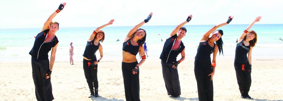 ダンスフィットネスに関するスタジオプログラム